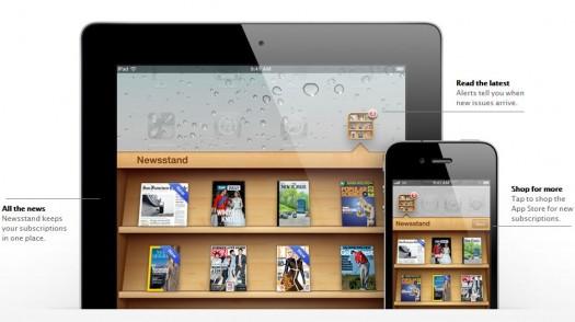 app magazine newsstand