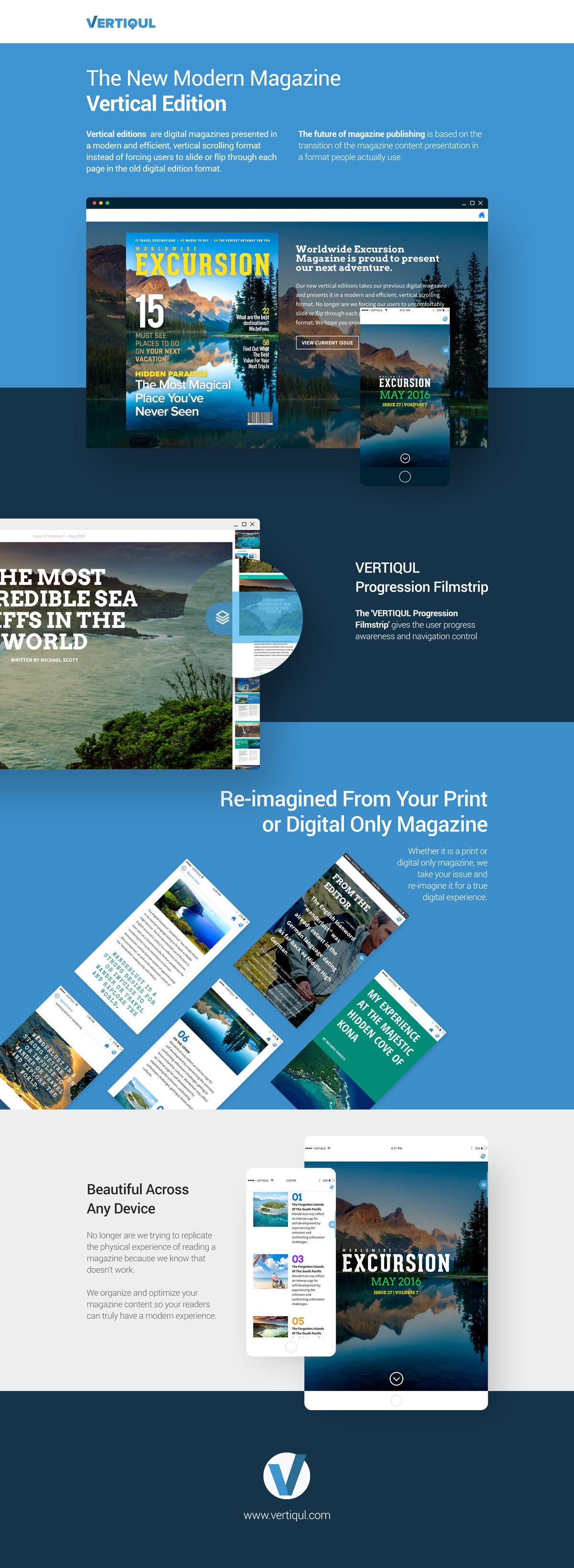 VERTIQUL - Vertical Editions Publishing Platform
