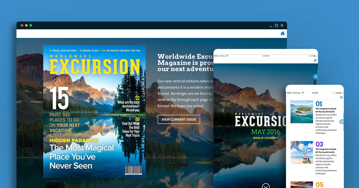 Vertiqul Digital Editions Solution