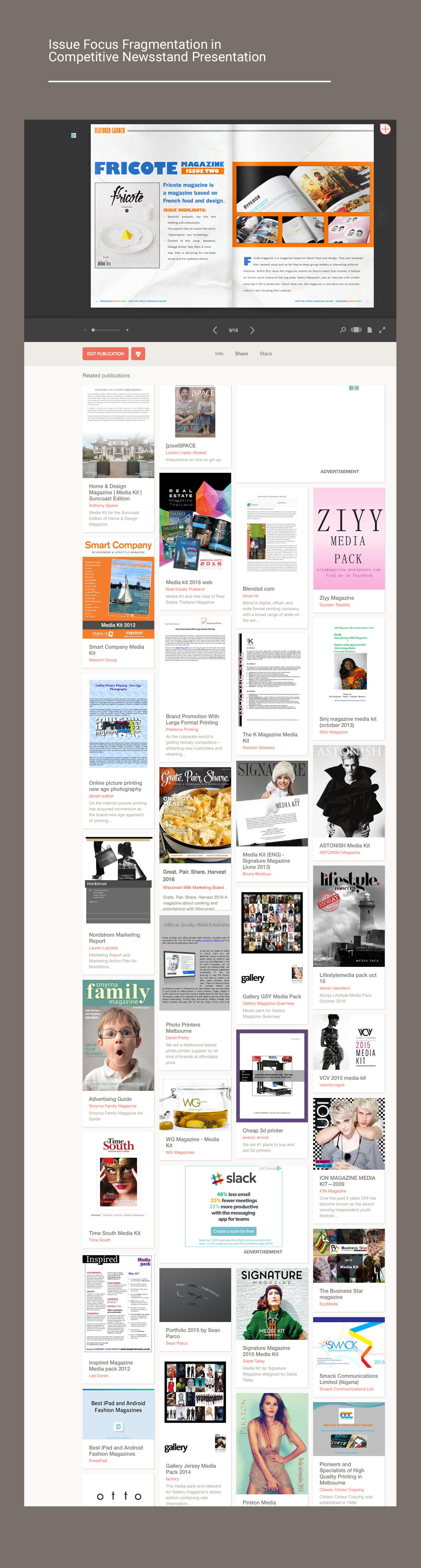 Digital Publishing Newsstand Marketplace Covers